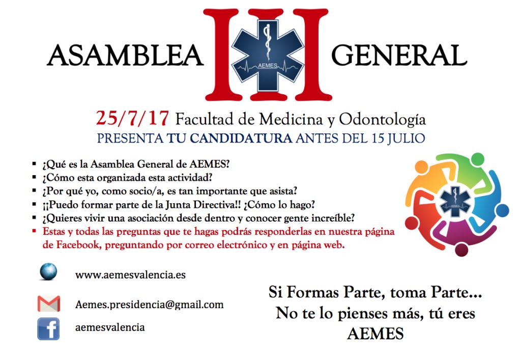 III ASAMBLEA AEMES