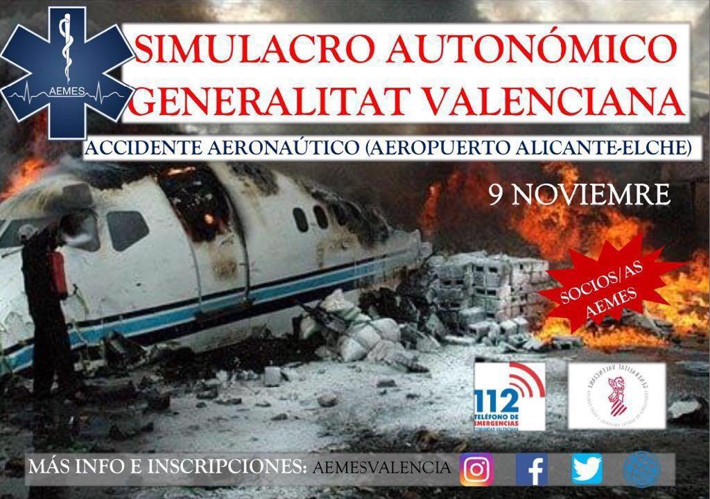 Simulacro Autonómico de la Generalitat Valenciana